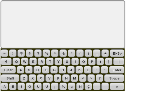 【免費工具App】Mini Spanish Keyboard & Pad-APP點子