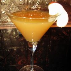Caramel Apple Orchard Martini