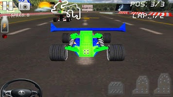 Screenshot of Circuit Racer Hot Wheel Racing