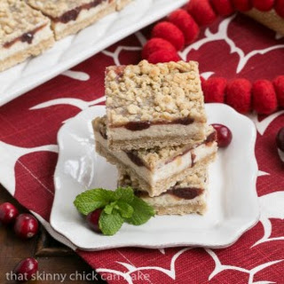 Cranberry Cream Cheese Bars #SundaySupper