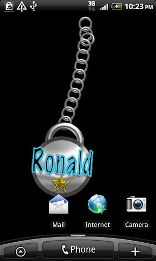 Ronald Name Tag