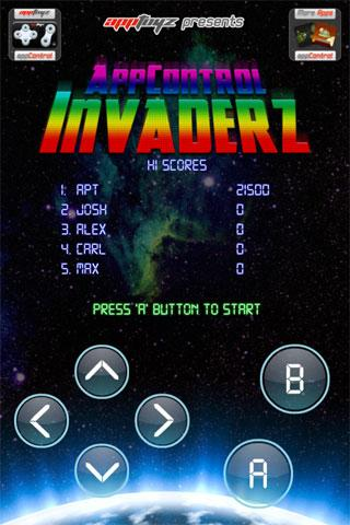 appControl Invaderz