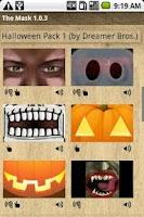 Screenshot of Halloween Mask Pack 1