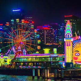 Luna Park!! by Deanne Holmer - City,  Street & Park  Amusement Parks