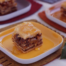 Mixed-Nut Honey Baklava