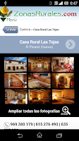 Screenshot of Casas Rurales en Zonas Rurales