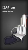 Screenshot of Pistol screen Lock