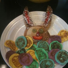Easter Bunny Pancakes and Egg Basket