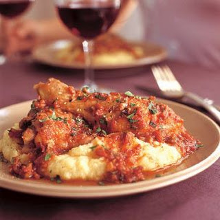 Wine-Braised Chicken With Shallots And Pancetta Recipe — Dishmaps