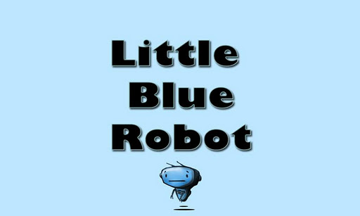 Little Blue Robot