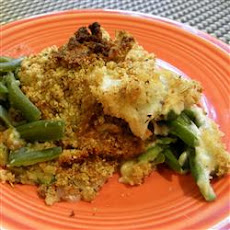 Cheesy Green Bean Dish