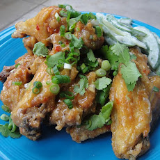 Cook the Book: Chile Chicken Wings with Creamy Cucumbers