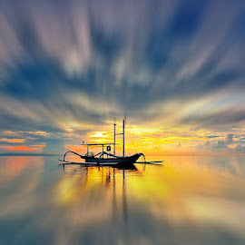 a lone by Arek Embongan - Landscapes Sunsets & Sunrises