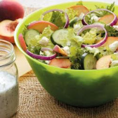 Peachy Tossed Salad