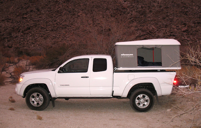 2007 Toyota Tacoma with Maggiolina Rooftop Tent & Anza Borrego | Product Reviews