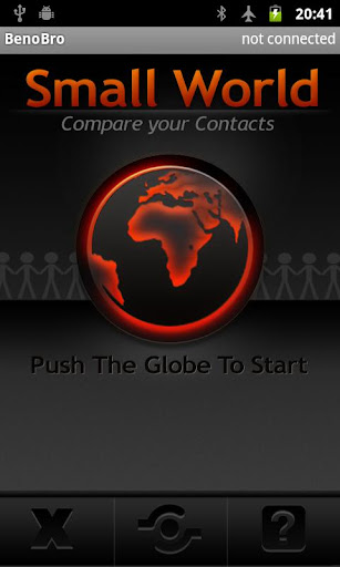 Compare contacts - Small World