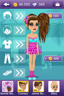 Screenshots  MovieStarPlanet