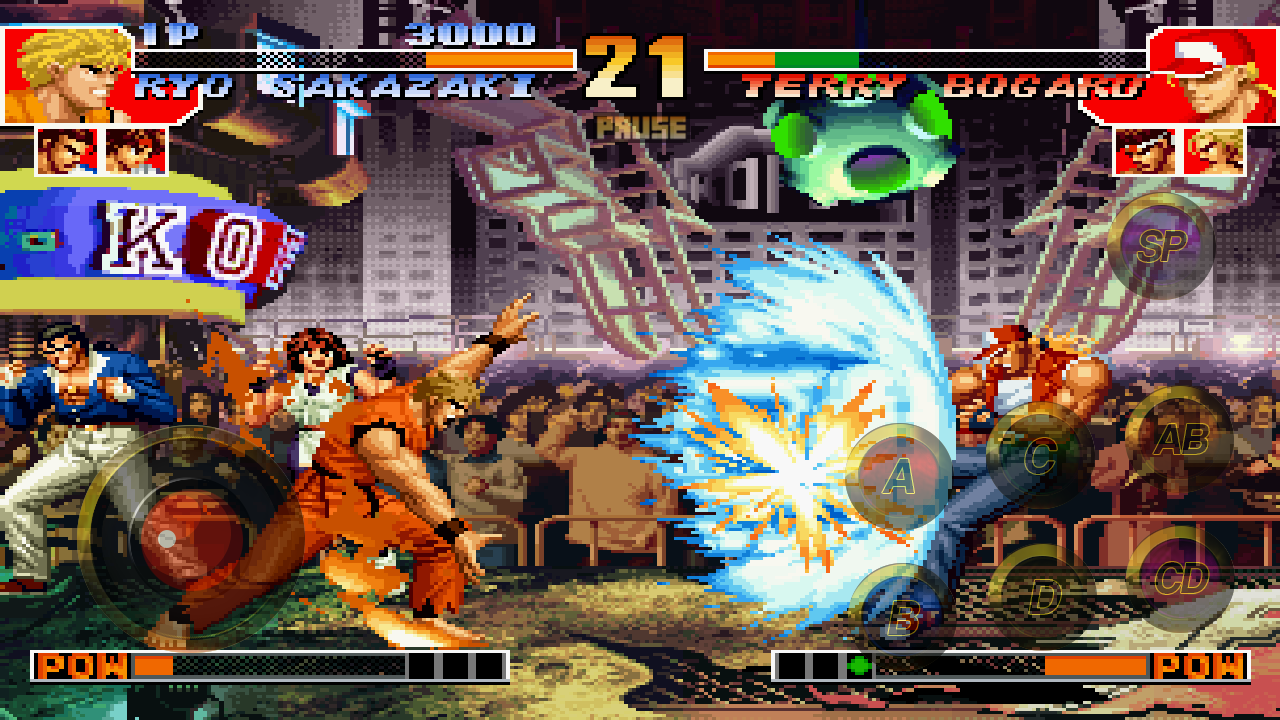 THE KING OF FIGHTERS '97 Screenshot 2