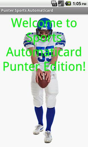 Punter Card Creator Free