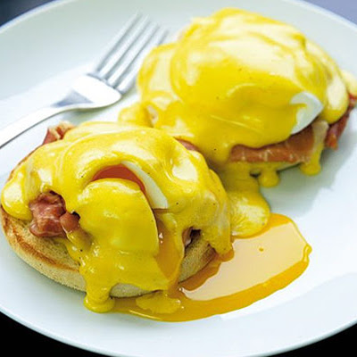 Gordon's eggs Benedict