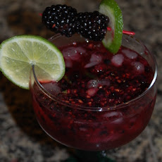 Blackberry Mint Margarita