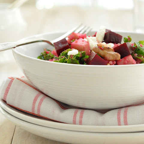 Roasted Beet and Goat Cheese Salad with Sherry-Walnut Vinaigrette ...