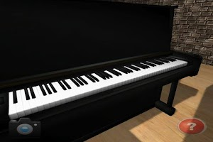Screenshot of Piano 3D