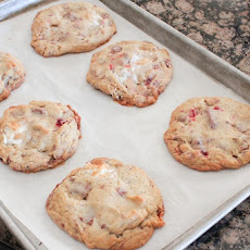 Cherry, Chocolate Chunk and Marshmallow Cookies