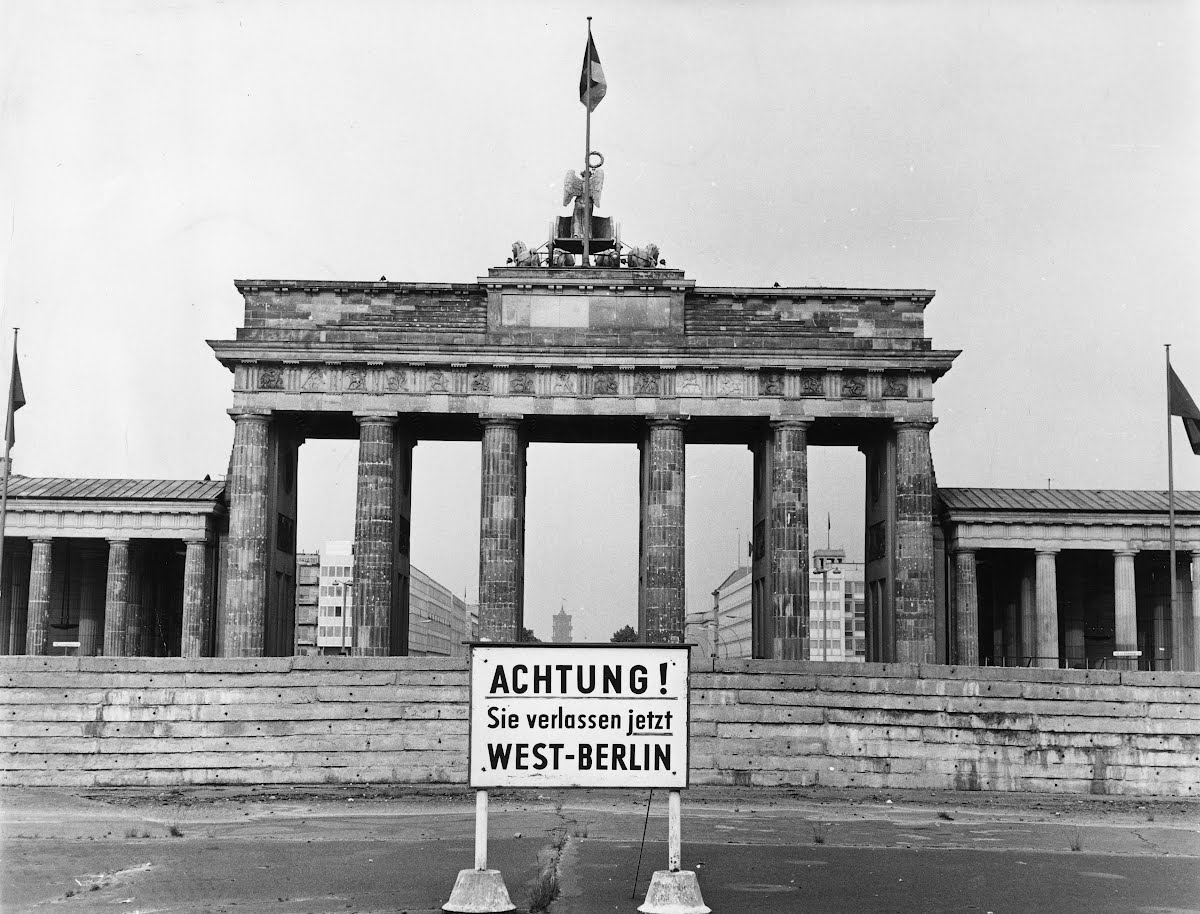 Arriving in Berlin as a young reporter in 1981 was a thrilling and chilling experience. The first view of my new home was the intimidating view tof East Berlin through the Brandenburg Gate.