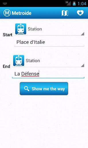 Metroide Paris subway