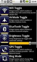Screenshot of Widget Switch
