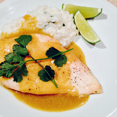 Coconut-Lime Chicken w/ Coconut Rice