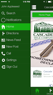 Cascade Title Company - screenshot