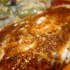 Sweet Mustard-Glazed Salmon Fillets