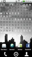 Screenshot of Text Clock Pro Live Wallpaper