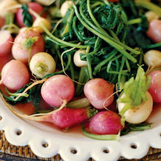Butter-Braised Radishes