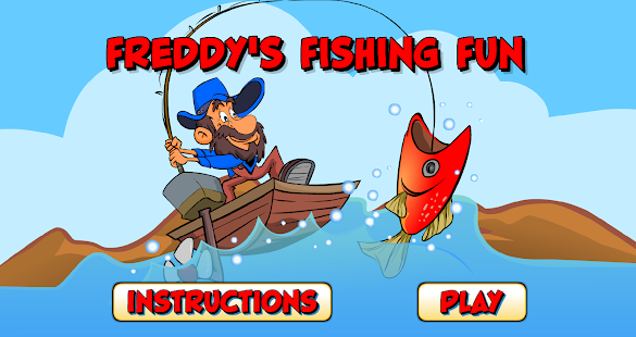 Freddy's Fishing Fun - screenshot