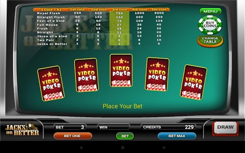 Four Card Poker Mobile Free Casino Game - IOS / Android Version