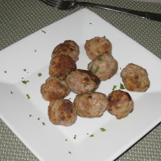 Keftedes ( Greek Meatballs)
