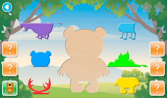 Screenshot of SHAPES MATCH Preschool Puzzle
