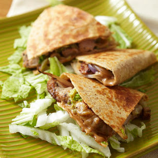 Asian Pork Quesadillas