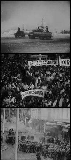Collage Algerienkrieg.
