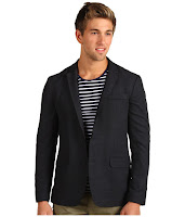 Shades of Grey - Raw Edge Blazer (Charcoal Wool) - Apparel