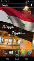 Screenshot of 3D Syria Flag Live Wallpaper