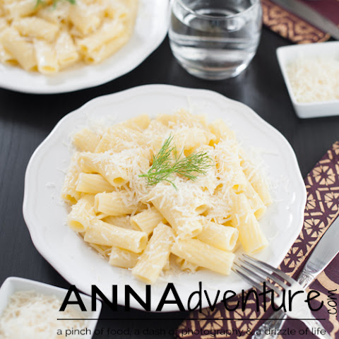Truffle Oil Pasta Recipe with fresh Grana Padano Parmesan Cheese