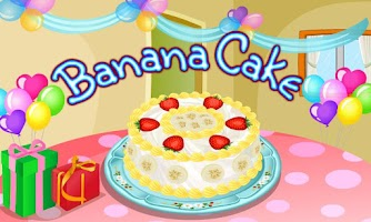 Screenshot of Banana Cake Cooking