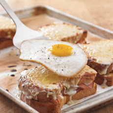 Ham and Gruyere Croque Madame