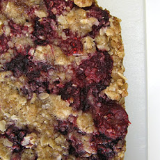 Raspberry Breakfast Bars