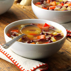 Red Bean Vegetable Soup