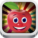Fruit Cartoon Jigsaw Puzzle icon